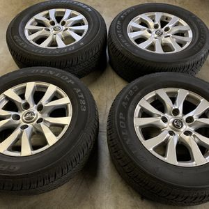 """Toyota 18"""" 5x150 Wheels And Tires for Sale in Seattle, WA"""