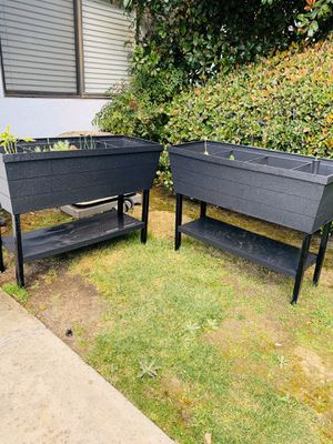 Raised planters (vegetables/soil included) for Sale in Laguna Woods, CA