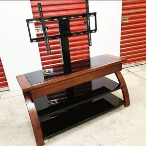 Large TV Stand With Wall Mount for Sale in Hyattsville, MD