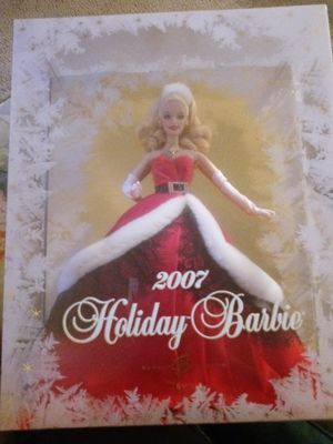 Matel 2007 Holiday Barbie for Sale in Houston, TX