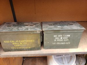 Vintage cartridge clip box, iron,& more for Sale in Midway City, CA