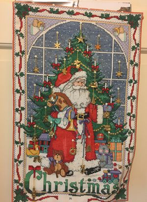 Christmas cross stitch for Sale in Lawrenceville, GA