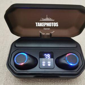 (B8)True Wireless Bluetooth 5.0 Earphones Touch Control Headphones Earbuds Headset for Sale in La Habra, CA