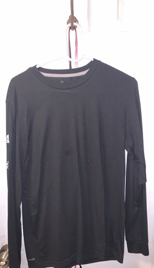 Long sleeve mens black adidas shirt size s for Sale in Plant City, FL