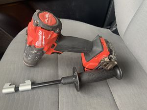 Milwaukee hammer drill driver fuel for Sale in Richmond, CA