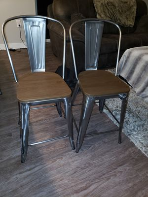 Industrial style bar stools for Sale in Minneapolis, MN