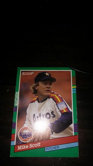 Mike Scott Baseball card (Limited edition) for Sale in Lakeland, FL