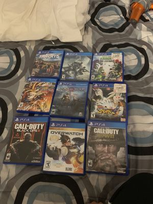 PS4 games great condition all for sale for Sale in Lake Stevens, WA