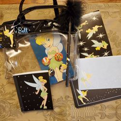 Disney Tinkerbell purse with Accessories New for Sale in Irvine,  CA