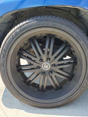 "24"" wheels rims & tires for Sale in Oceanside, CA"