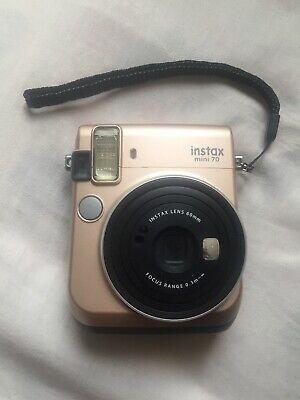 Fujifilm Instax Mini 70 - Instant Film Camera (Gold) for Sale in Tampa, FL