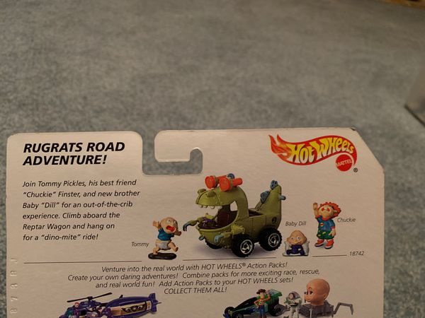 """Hot Wheels Action Pack """"Rugrats Movie"""" & """"Toy Story"""""""