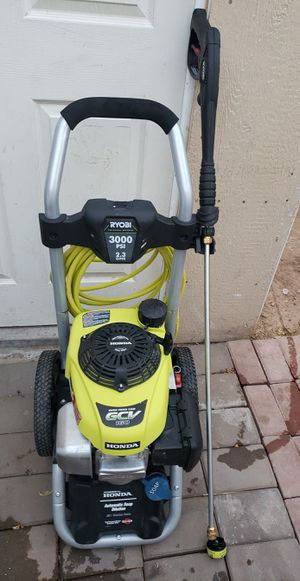 RYOBI 3000 PSI 2.3-GPM Honda Gas Pressure Washer for Sale in Phoenix, AZ