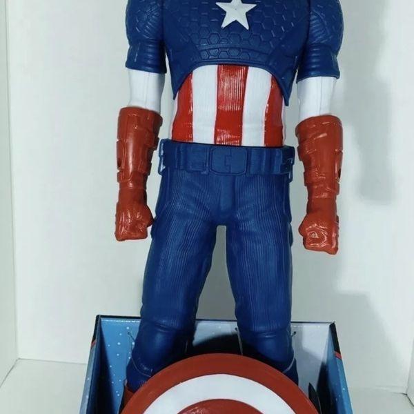 "Captain America 20"" in. W/Shield new"