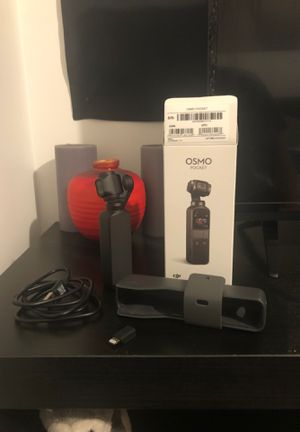 DJI OSMO POCKET 4K ACTION CAMERA ( MATTE BLACK) for Sale in Los Angeles, CA