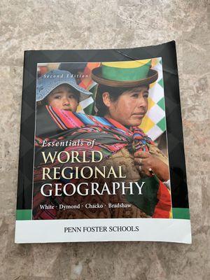Essentials of World regional geography for Sale in Smyrna, TN