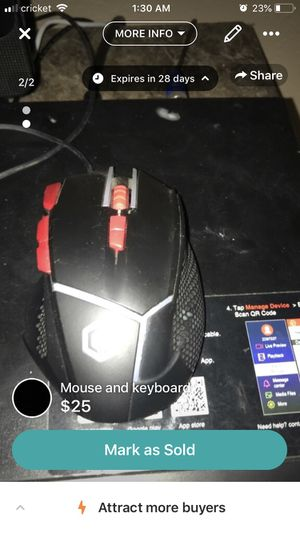 Mouse and keyboard for Sale in Laredo, TX