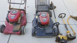 Lawn mowers and weed eaters for Sale in Jurupa Valley, CA