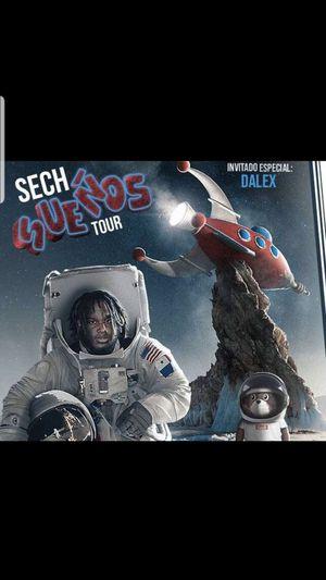Sech sueños tour for Sale in Dallas, TX