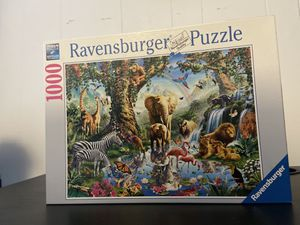 Ravensburger 1000 piece puzzle (Adventures in the Jungle) for Sale in Windsor, CT