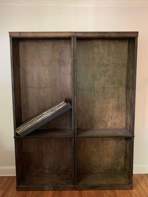 Antiqued Solid Oak Bookshelves for Sale in Nashville, TN