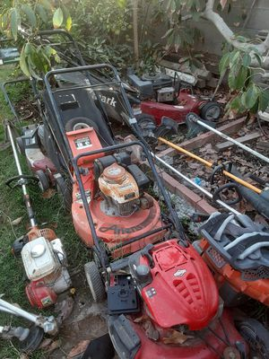 Free mowers for Sale in San Marcos, CA
