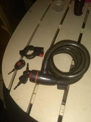 NEW! Schwinn 6 foot, key bike lock. for Sale in West Jordan, UT