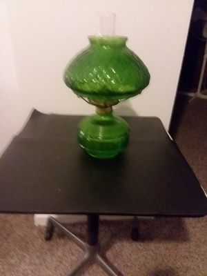 Oil hurricane lamp for Sale in Thornville, OH