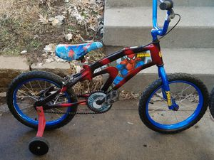 16 inch spider man bike for Sale in Smithville, MO