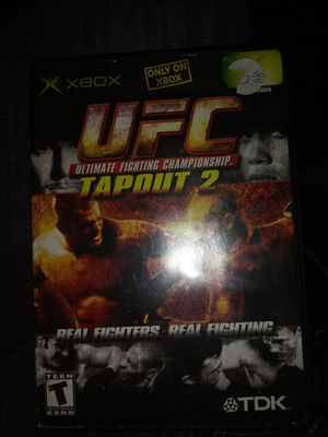 UFC TAPOUT 2 XBOX for Sale in Newark, CA