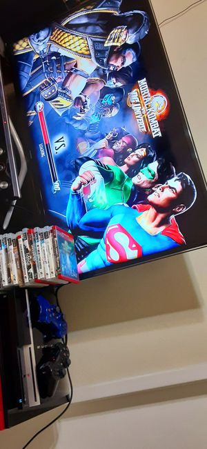 PLAYSTATION 3 COME WITH CONTROLLER'S ,CABLE'S AND GAMES GREAT CONDITION for Sale in Houston, TX