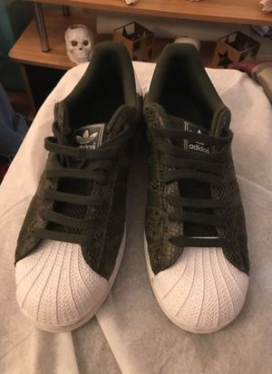 Like new Camo Adidas ,, size 10 1/2, great steal at only $40!! for Sale in West Palm Beach, FL