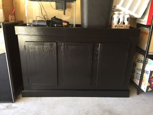 Freshly Painted 55 Gallon Aquarium Stand for Sale in Renton, WA
