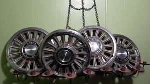 "Set of (4) classic antique Pontiac motor division 14"" Hubcaps for Sale in Spout Spring, VA"