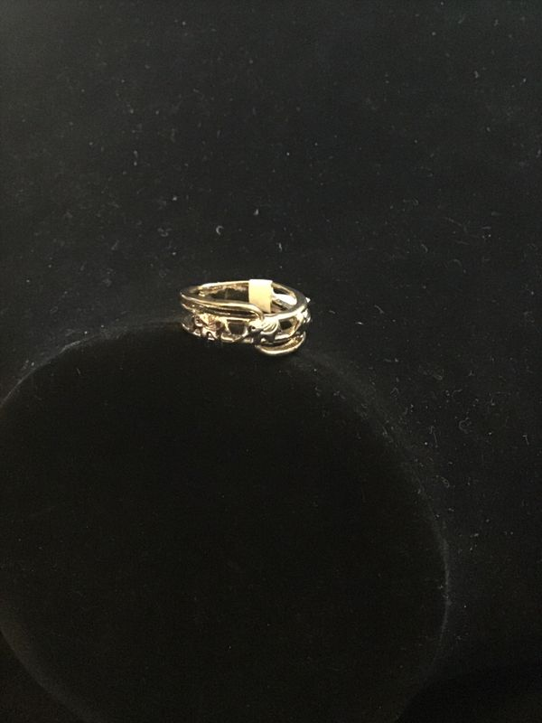 NEW GOLD PLATED AND GOLD PLATED OVER STAINLESS STEEL RINGS EACH $15