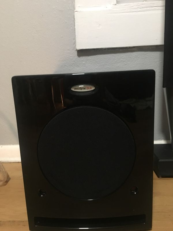 Bang & Olufsen speakers with sub