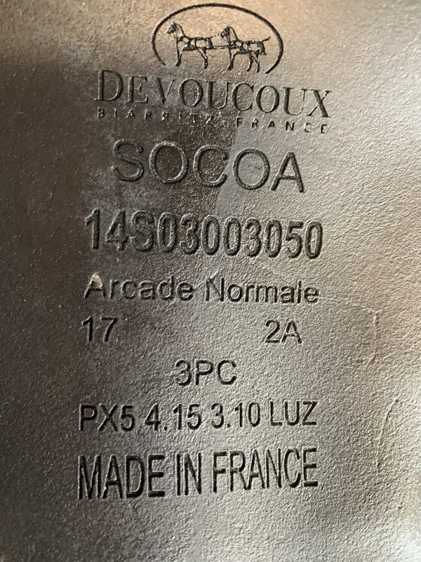 2014 Devoucoux Socoa Calfskin Saddle