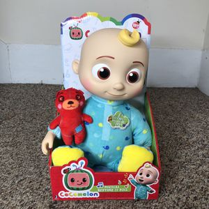 Cocomelon Official Musical Bedtime JJ Doll Soft Plush Toy for Sale in Brooklyn, NY