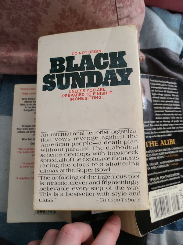 Black Sunday, Thomas Harris, Paperback