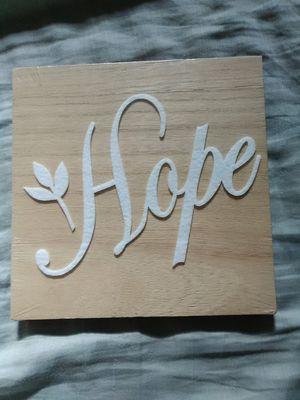 Hope decor for Sale in Norfolk, VA