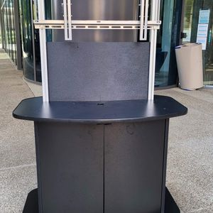 Tv Holder In Good Conditions with Storage ...on Casters for Sale in San Diego, CA