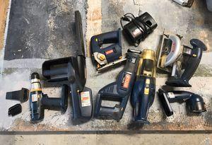 Ryobi 8 pc tool set for Sale in El Cajon, CA