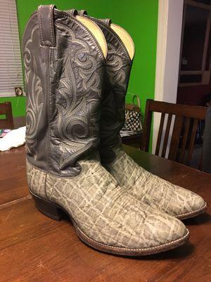 Botas de elefante 🐘 justin sz 12 for Sale in Dallas, TX