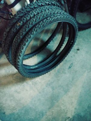 Good condition tires for mountain bike for Sale in Chicago, IL