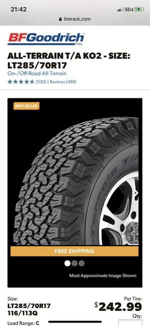 (1) BFG KO2 285/70/17 tire for Sale in Alhambra, CA