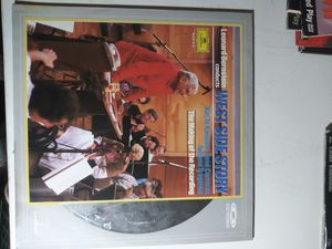 Leonard Bernstein conducts West Side Story Laserdisc for Sale in Yonkers, NY