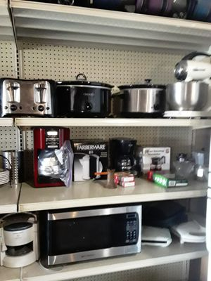 Crock pots toaster microwave coffee makers and more for Sale in Spring Hill, FL