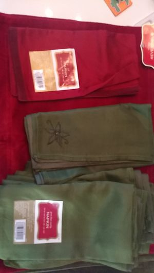 New Christmas placemats and napkins for Sale in Chandler, AZ