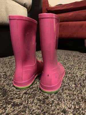 Girl rain boots for Sale in Sacramento, CA