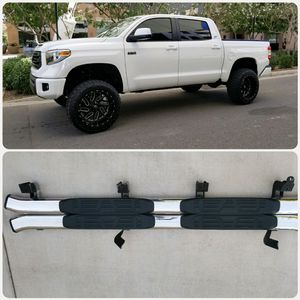TOYOTA TUNDRA CREW MAX RUNNING BOARDS ( ESTRIBOS) for Sale in Mesa, AZ